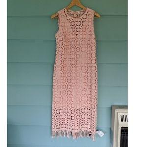 NWT Laundry Crochet Dress